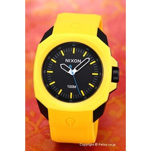 ニクソン NIXON 腕時計 メンズ Ruckus Yellow / Black A349887|trend-watch