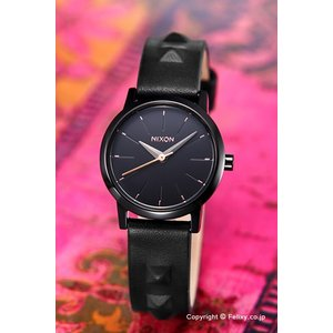 ニクソン NIXON 腕時計 レディース Kenzi Leather All Black / Studded A3981669|trend-watch