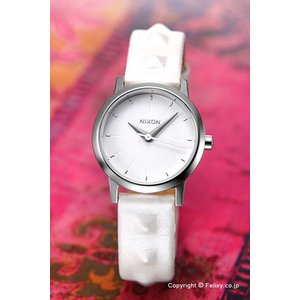 ニクソン NIXON 腕時計 レディース Kenzi Leather All White / Studded A3981811|trend-watch