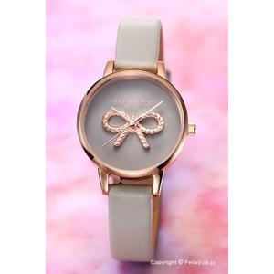 オリビアバートン OLIVIA BURTON 腕時計 VINTAGE BOW GREY & ROSEGOLD OB16VB04|trend-watch