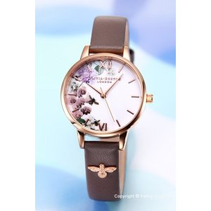 オリビアバートン OLIVIA BURTON 腕時計 レディース ENCHANTED GARDEN LONDON GREY & RG OB16ES06|trend-watch