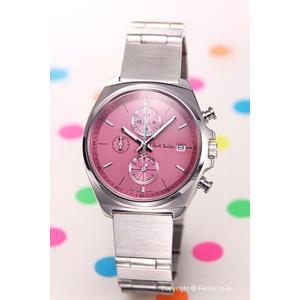 ポールスミス 時計 レディース BM2-012-91 ニュー ファイナル アイズ クロノグラフ ミニ ピンクストライプ|trend-watch