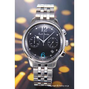 ポールスミス 時計 メンズ BX2-019-51 シティ クラシック ツー カウンター クロノグラフ ブラック|trend-watch