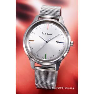 ポールスミス 腕時計 メンズ Paulsmith BC5-415-11 The City Pair (シティ ペア) シルバー/替えベルト付き|trend-watch