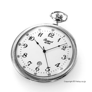 ラポート 懐中時計 PW33 RAPPORT (ポケットウォッチ)  クォーツ スリムタイプ|trend-watch