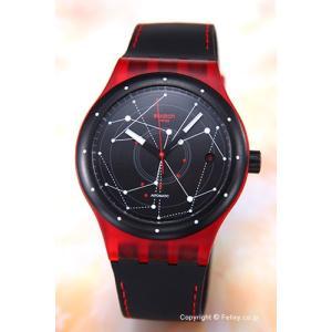 SWATCH スウォッチ 腕時計 Sistem 51 (システム51) Sistem Red (システム・レッド) SUTR400|trend-watch