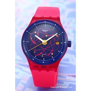 SWATCH スウォッチ 腕時計 SUTR401 Sistem 51(システム51) Sistem Pink(システム・ピンク)|trend-watch