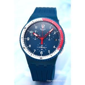 スウォッチ 腕時計 SWATCH SUSN405 New Chrono Plastic(ニュークロノ プラスチック) EL COMANDANTE|trend-watch