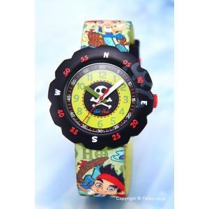 スウォッチ 腕時計 SWATCH FlikFlak(フリックフラック) ZFLSP005 ディズニー ジェイクとネバーランドのかいぞくたち|trend-watch