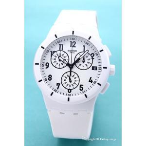 スウォッチ SWATCH 腕時計 ORIGINALS CHRONO TWICE AGAIN WHITE(オリジナルズ クロノ トワイス アゲイン ホワイト) SUSW402 trend-watch