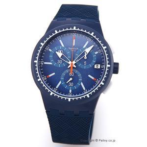 スウォッチ SWATCH 腕時計 ORIGINALS CHRONO GARA IN BLU(オリジナルズ クロノ) SUSN410|trend-watch