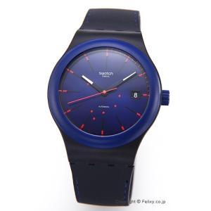 SWATCH スウォッチ 腕時計 Sistem 51(システム51) Sistem NOTTE (システム・ノッテ) SUTB403 trend-watch