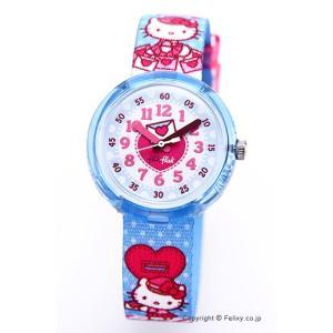 スウォッチ 腕時計 SWATCH FlikFlak(フリックフラック) FLNP024 HELLO KITTY ハローキティ trend-watch
