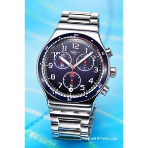 スウォッチ 腕時計 メンズ SWATCH YVS426G Irony Chrono SWATCHOUR (アイロニークロノ スウォッチアワー)|trend-watch