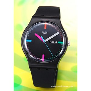 スウォッチ 腕時計 SWATCH NEW GENT THE INDEXTER SUOB719|trend-watch