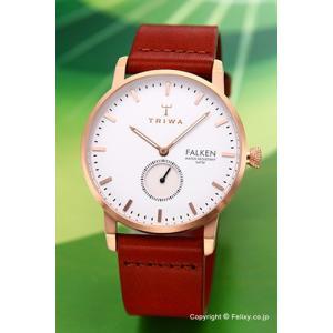 トリワ 腕時計 TRIWA ローズ ファルケン ブラウンクラシック  FAST101-CL010214|trend-watch