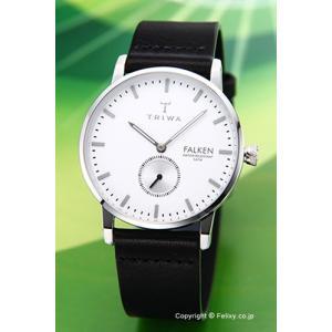 トリワ 腕時計 TRIWA アイボリー ファルケン ブラッククラシック FAST103-CL010112|trend-watch