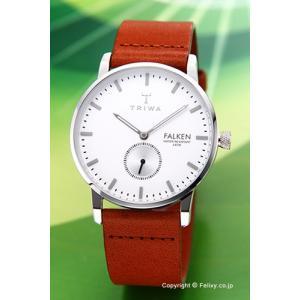トリワ 腕時計 TRIWA アイボリー ファルケン ブラウンクラシック FAST103-CL010212|trend-watch