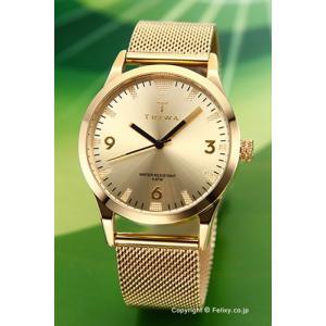 トリワ 腕時計 TRIWA Sort Of Black Gold Gold Mesh (ソート オブ ブラック ゴールド ゴールド メッシュ)  LAST114-ME021313|trend-watch