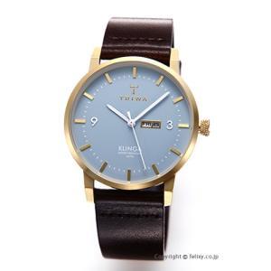 トリワ TRIWA 腕時計 アークティック クリンガ ダークブラウンクラシック KLST106-CL010413|trend-watch