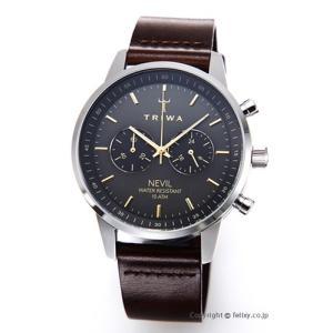 トリワ 腕時計 TRIWA スモーキー ネヴィル NEST114-CL010412|trend-watch