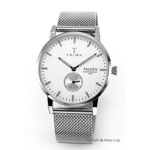 トリワ 腕時計 TRIWA アイボリー ファルケン スティールメッシュ FAST103-ME021212|trend-watch
