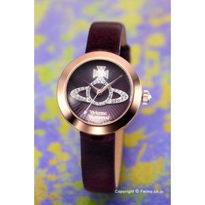 ヴィヴィアン ウエストウッド Vivienne Westwood 腕時計 Queensgate (クイーンズゲート) パープル×ローズゴールド VV150RSPP|trend-watch