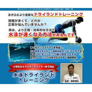 水泳ドライランドトレーニングDVD 日本オリンピック委員会強化指定コーチ藤森善弘によるトレーニング方法