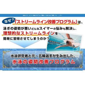 水泳ストリームライン改善プログラムDVD コツを理解して上達できる「姿勢」トレーニング
