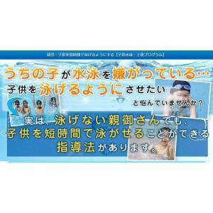 子供水泳・上達プログラムDVD 子供水泳上達 子供が水泳を嫌がる方へ マイエススイミング国立スイミングコーチ監修DVD2枚組