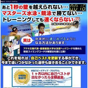 水泳スピードアップ・プログラムDVD 水泳タイム縮める練習 水泳タイム伸ばす方法 元オリンピック日本代表森隆弘監修