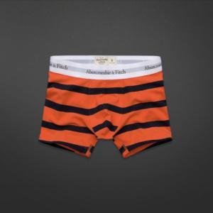 【即納】アバクロ メンズ ボクサーブリーフ Abercrombie&Fitch Hopkins Trail Boxer Briefs Orenge Stripe(オレンジストライプ) 本物|trendcruising