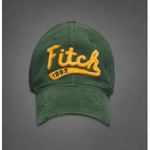 【即納】アバクロ メンズ キャップ Abercrombie&Fitch Classic Baseball Caps GREEN (グリーン) 本物 【条件付き送料無料】|trendcruising