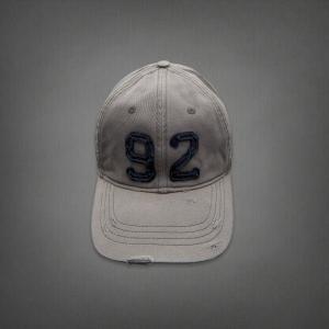 【即納】アバクロ メンズ キャップ Abercrombie&Fitch Classic Baseball Caps  Grey (グレー) 本物 【条件付き送料無料】|trendcruising