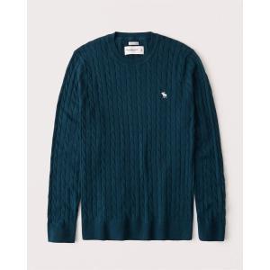 アバクロ カーディガン メンズ セーター ニット ネイビー 大きいサイズ xs s m l xl xxl xxxl|trendcruising