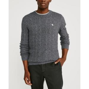 アバクロ   Vネックセーター メンズ ニット ブラック 大きいサイズ|trendcruising