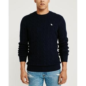 アバクロ   Vネックセーター メンズ ニット グレー 大きいサイズ|trendcruising
