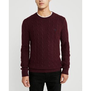 アバクロ   Vネックセーター メンズ ニット ブルー 大きいサイズ|trendcruising