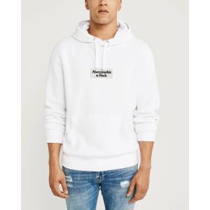 アバクロ パーカー メンズ トレーナー スウェットシャツ 大きいサイズ ブルー|trendcruising