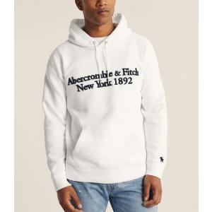 アバクロ パーカー メンズ トレーナー スウェットシャツ 大きいサイズ クリーム|trendcruising