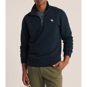 アバクロ パーカー メンズ トレーナー スウェットシャツ 大きいサイズ パープル|trendcruising