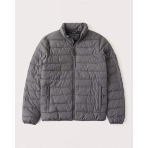 アバクロ ジャケット メンズ アウター コート ブラック&レッド|trendcruising