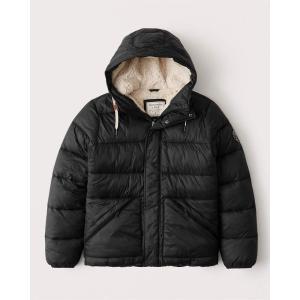 アバクロ ダウンベスト ジャケット メンズ アウター コート  ネイビー|trendcruising