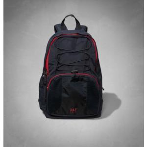 【即納】アバクロ リュック Abercrombie&Fitch A&F Active Backpack Navy(ネイビー)正規品(本物)|trendcruising