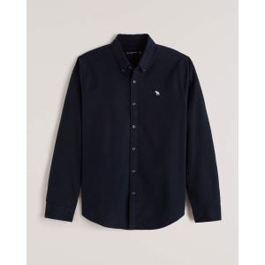 アバクロ チェックシャツ メンズ  長袖 シャツ ネイビー ホリスター アメリカンイーグル 大きいサイズ XL XXL XXXL ニューバランス|trendcruising