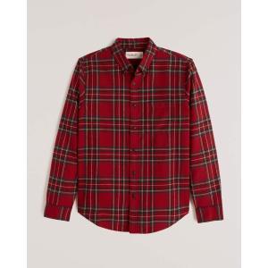 アバクロ チェックシャツ メンズ  長袖 シャツ ブルー ホリスター アメリカンイーグル 大きいサイズ XL XXL XXXL おしゃれ 人気 ニューバランス|trendcruising