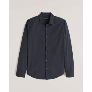 アバクロ チェックシャツ メンズ  長袖 シャツ ブルーネイビー ホリスター アメリカンイーグル 大きいサイズ XL XXL XXXL おしゃれ 人気 ニューバランス|trendcruising