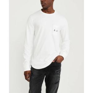 アバクロ メンズ 半袖 ロゴTシャツ グラフィックTシャツ 大きいサイズ ネイビー アメリカンイーグル ラルフローレン おしゃれ 人気 ニューバランス trendcruising