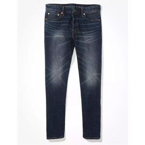 アメリカンイーグル スリムジーンズ メンズ  大きいサイズ  AE Extreme Flex Slim Jean Tour Khaki trendcruising