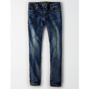 アメリカンイーグル スキニージーンズ メンズ  ブルー trendcruising